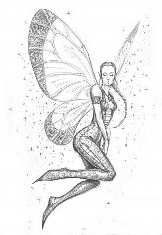 Крылья татуировки: эскизы и фото (20)