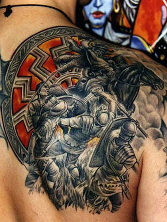 Спортивные татуировки фанатов (75)