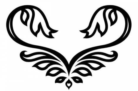Крылья татуировки: эскизы и фото (10)