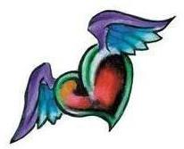 Эскизы татуировки крылья (12)