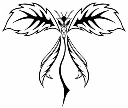 Крылья татуировки: эскизы и фото (14)