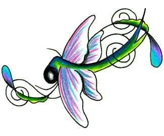 Эскизы татуировки крылья (9)