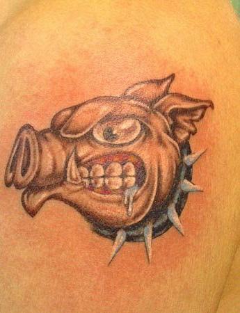 Спортивные татуировки фанатов (81)