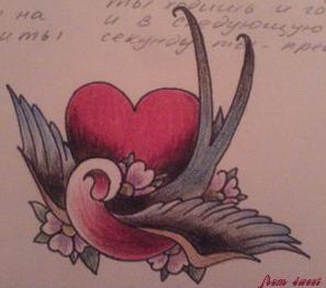 Эскизы татуировки крылья (11)