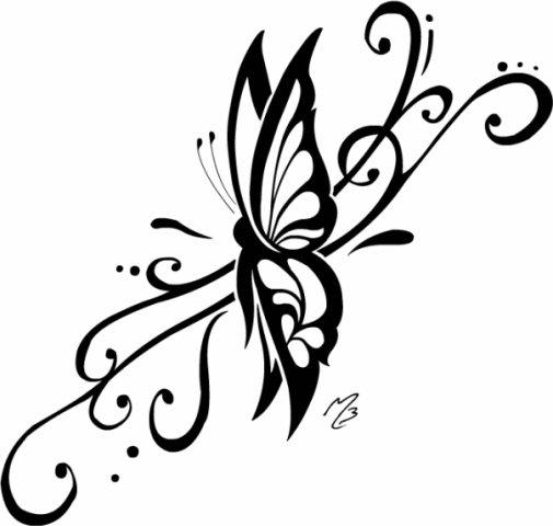 Крылья татуировки: эскизы и фото (9)