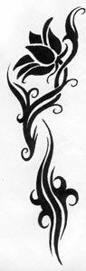 татуировки цветы (12)