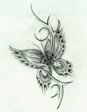 Эскизы татуировки крылья (20)