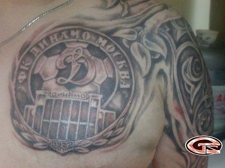 Спортивные татуировки фанатов (73)
