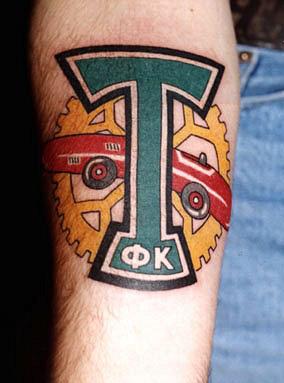 Спортивные татуировки фанатов (76)