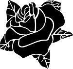 Татуировки и эскизы розы (43)
