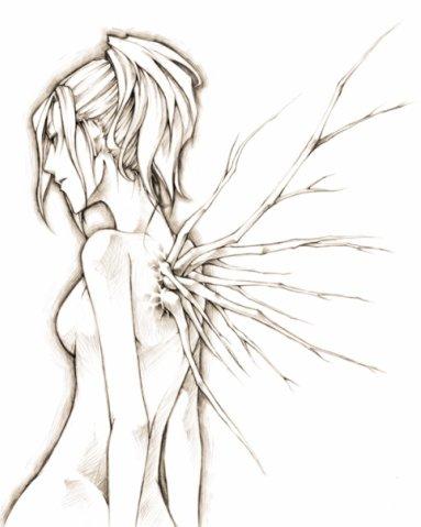 Крылья татуировки: эскизы и фото (18)