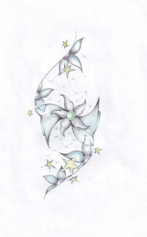 татуировки цветы (22)