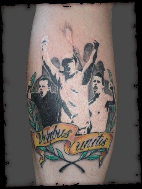 Спортивные татуировки фанатов (79)