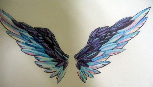 Крылья татуировки: эскизы и фото (12)