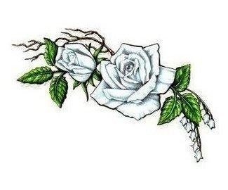 татуировки цветы (13)