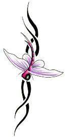 Эскизы татуировки крылья (17)