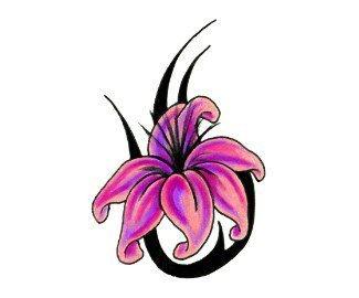 татуировки цветы (9)