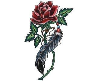 татуировки цветы (8)