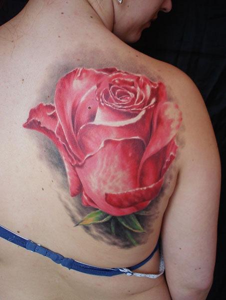 Татуировки и эскизы розы (40)