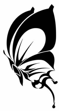 Эскизы татуировки крылья (6)