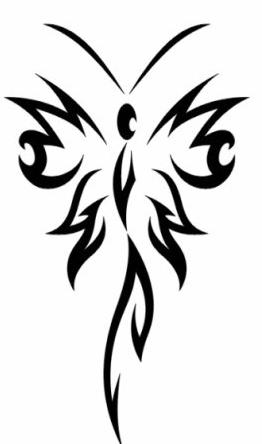Эскизы татуировки крылья (4)