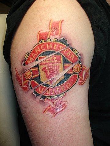 Спортивные татуировки фанатов (70)