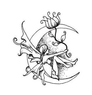 эскизы татуировок цветов (4)