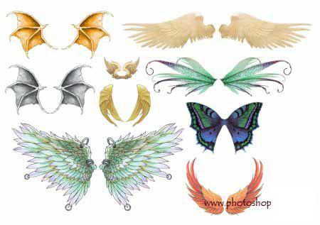 Крылья татуировки: эскизы и фото (2)