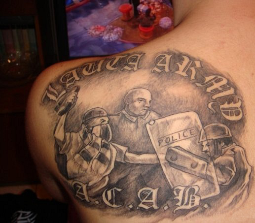 Спортивные татуировки фанатов (66)