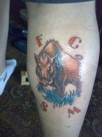 Спортивные татуировки фанатов (65)