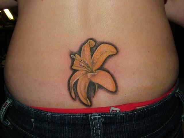 татуировка лилия (44)