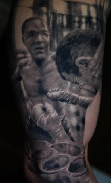 Спортивные татуировки фанатов (63)