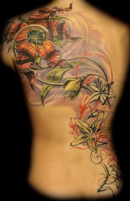 татуировка лилия (46)