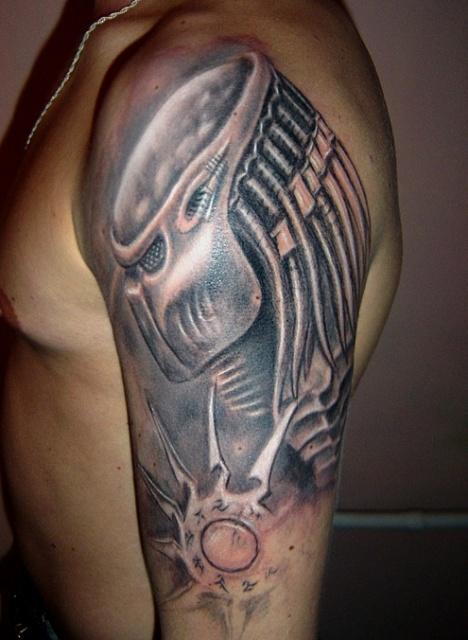 Татуировки Чужой и Хищник (20)