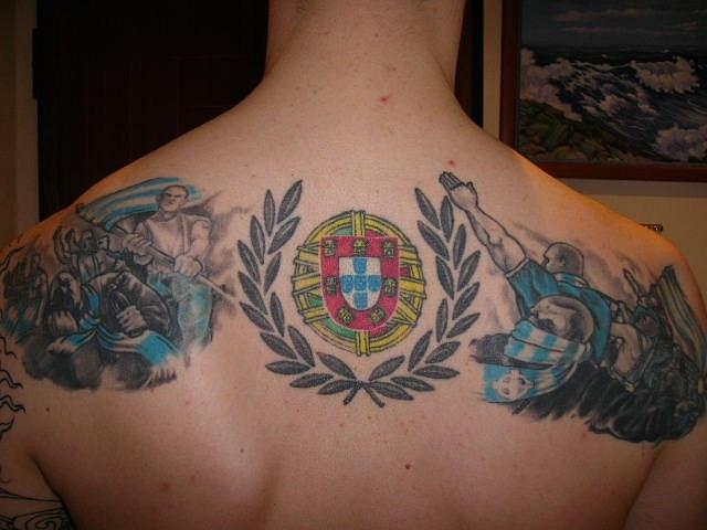 Спортивные татуировки фанатов (61)