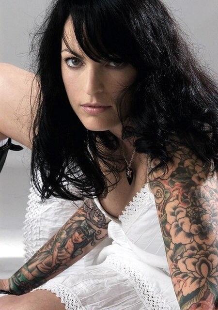 Девушки и их татуировки (4)