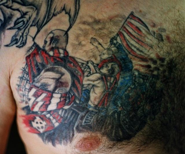 Спортивные татуировки фанатов (53)