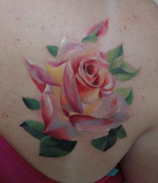 Татуировки и эскизы розы (23)