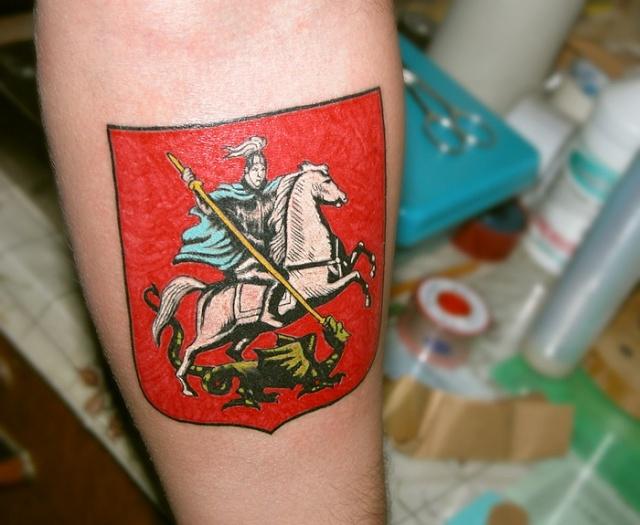 Спортивные татуировки фанатов (49)