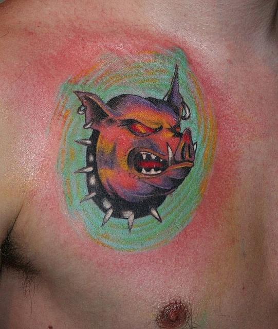 Спортивные татуировки фанатов (48)