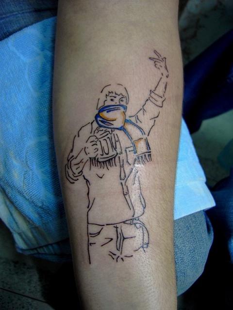 Спортивные татуировки фанатов (47)