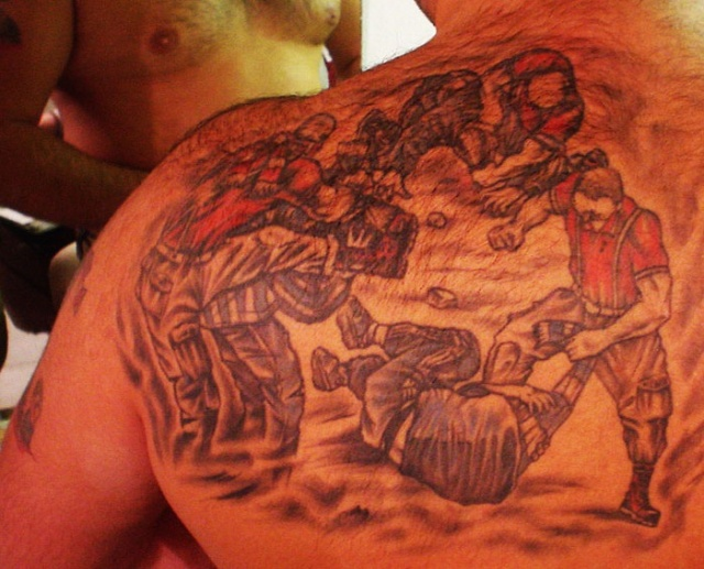 Спортивные татуировки фанатов (44)