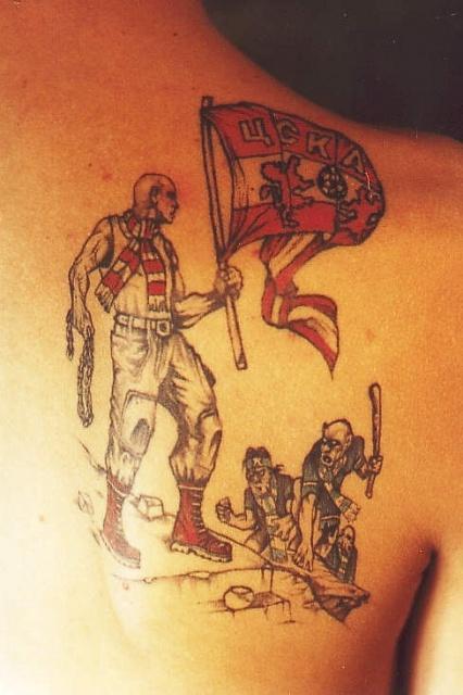 Спортивные татуировки фанатов (42)