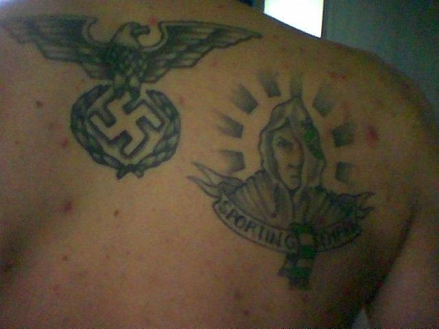 Спортивные татуировки фанатов (41)