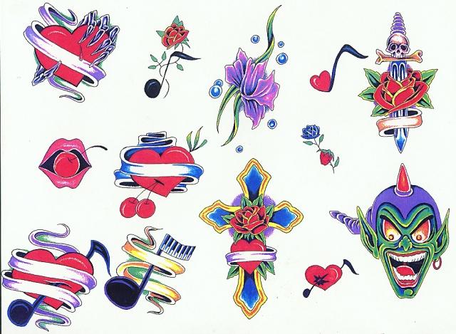 татуировки подарки на день святого валентина (2)