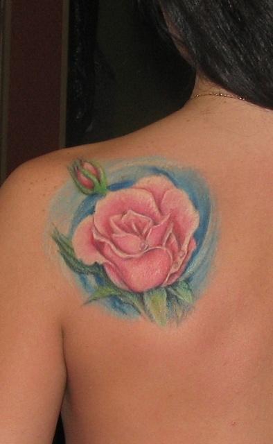 Татуировки и эскизы розы (20)
