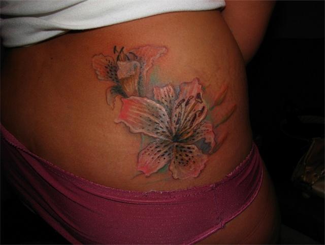 татуировка лилия (29)