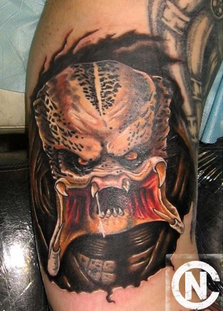 Татуировки Чужой и Хищник (13)