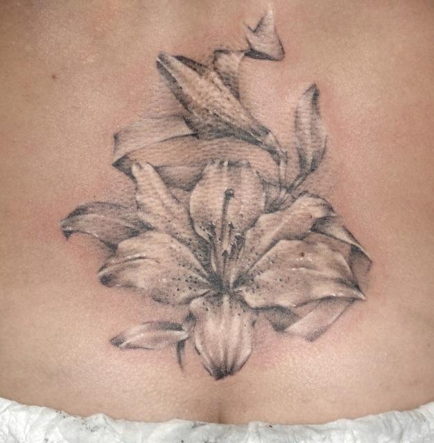 татуировка лилия (28)