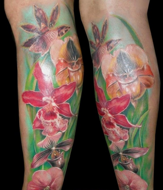татуировка лилия (26)